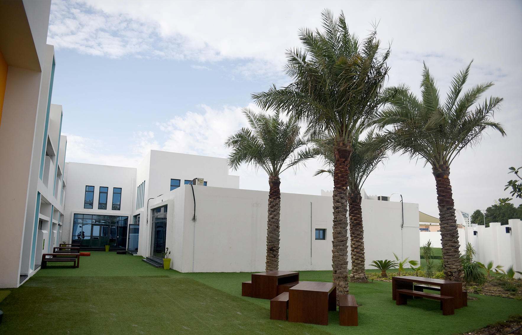 Kings College Doha Grounds - Facilities