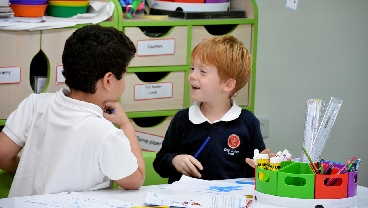 kings college doha fees 2 - Pre-Prep (Ages 3-6)