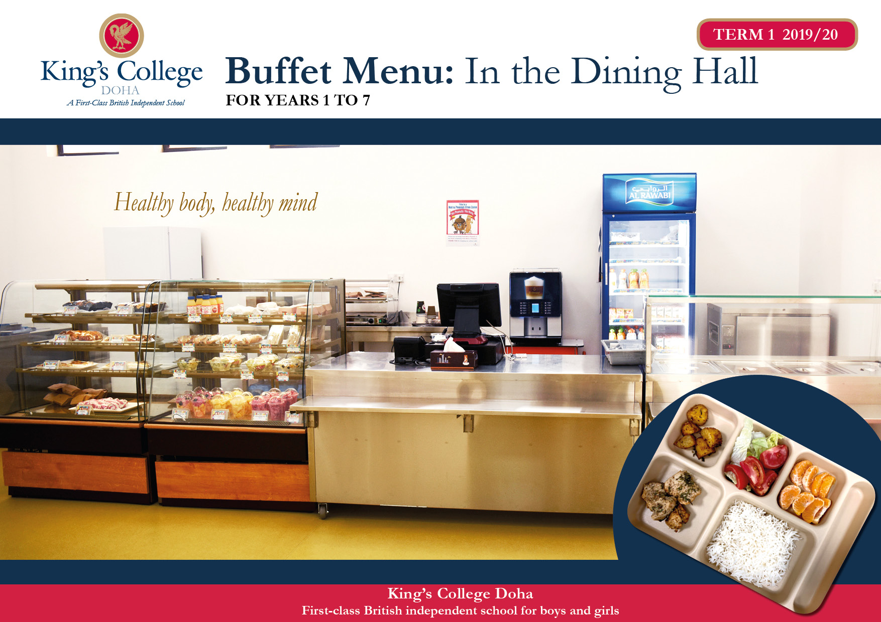 Kings College Food menu2 - Catering
