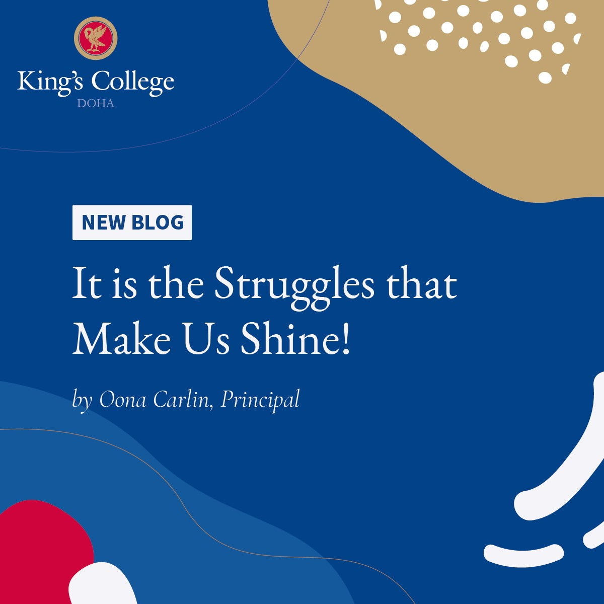 Blog - 'It is the Struggles that Make Us Shine!'
